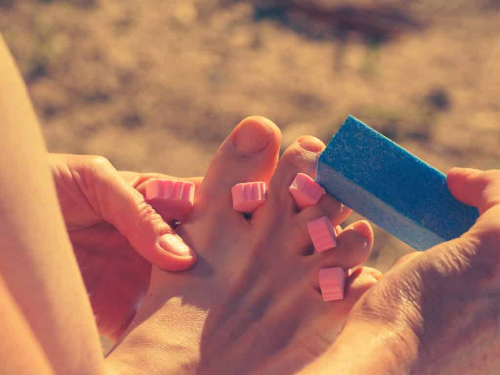 pumice for smooth feet