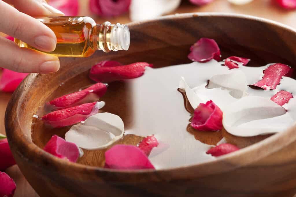 essential oil for foot soak