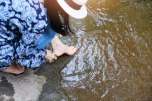 pumice smooth feet